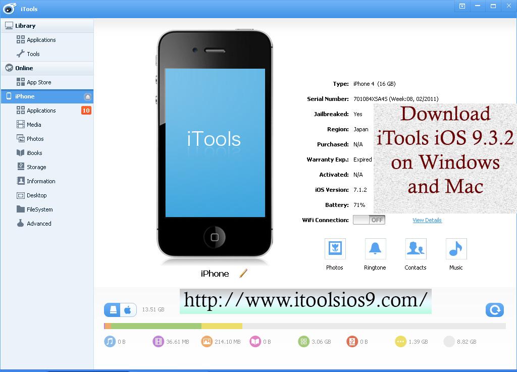 iTools iOS 9.3.2