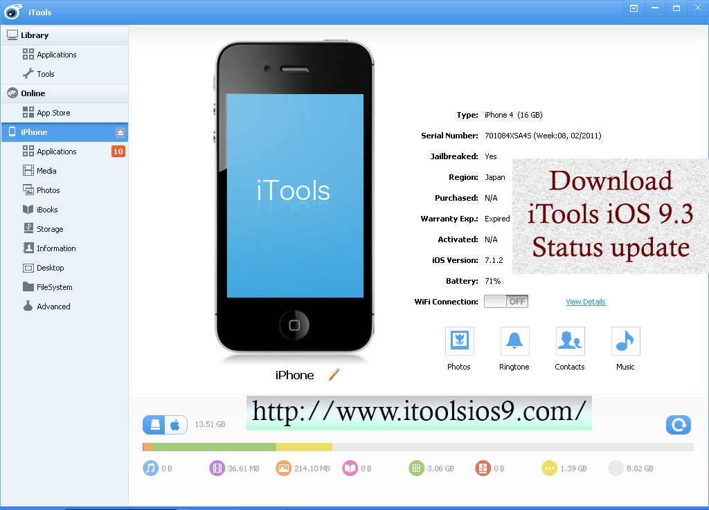 Download iTools iOS 9.3