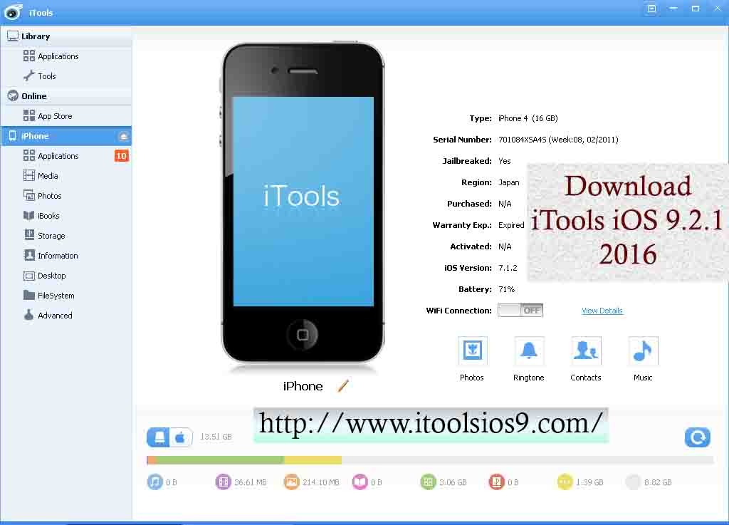 Download iTools iOS 9.2.1