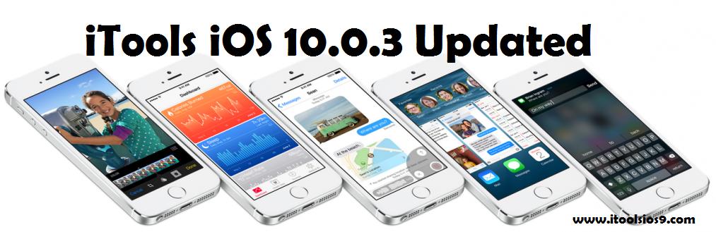 iTools iOS 10.0.3
